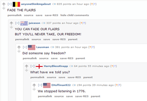 These Patriotic Redditors Are Doing It Right