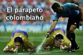 El parapeto colombiano