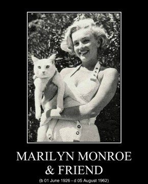 MARILYN MONROE & FRIEND