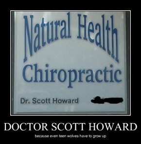 DOCTOR SCOTT HOWARD