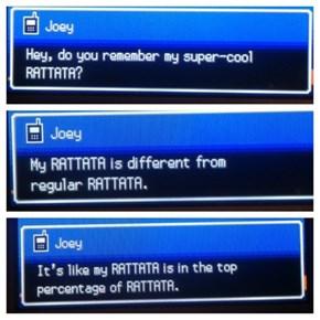 Joey, Pls Stahp!