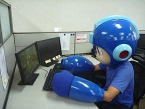 Mega Man... Man?