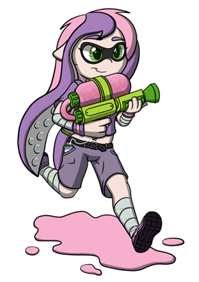 Maybe she can ger her Splatoon cutie mark.