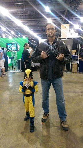 Father and Son Cosplay