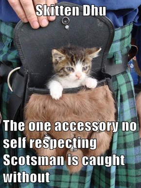 Skitten Dhu  The one accessory no self respecting Scotsman is caught without
