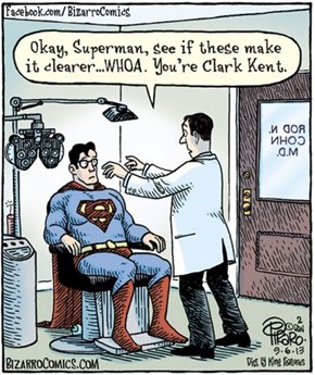 The Main Reason Superman Never Goes to The Ophthalmologist