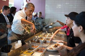 The President Commits a Serious Chipotle Faux Pas