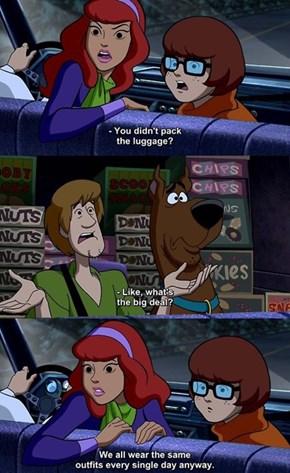 Shaggy Gets Meta