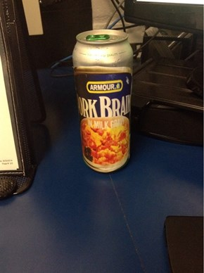 Being Sneaky? Or Gravy Flavored Beer