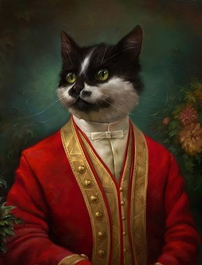 6 Fancy Paintings That Give Felines the Sophistication They Deserve