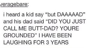 A Dad Joke Gone Wrong