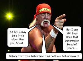 Match of da Century: Hulk Hogan VS. Da Grunt