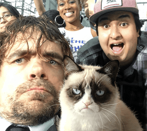 Peter Dinklage Met Grumpy Cat Once... It was Awful