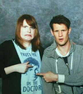 Sometimes It's Hard Being Matt Smith