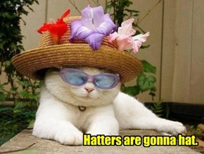 Hatters are gonna hat.