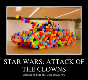 STAR WARS: ATTACK OF THE CLOWNS