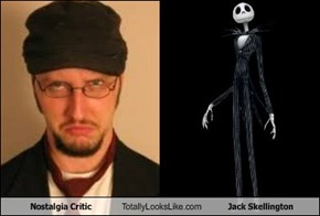 Nostalgia Critic Totally Looks Like Jack Skellington