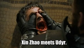 Xin Zhao meets Udyr.