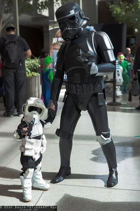The Littlest Scout Trooper