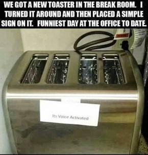 Toast. Toast. TOOOAST!!!