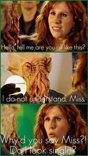 The Ood Have a Sixth Sense About That Sort of Thing