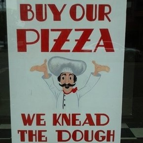 A Little Pun With Your Pizza