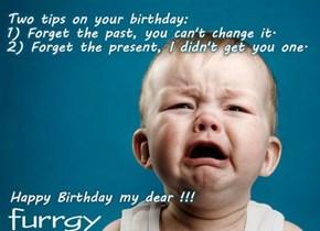 Happy Birthday furrgy