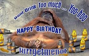 Happy Birthday furrgetmenot