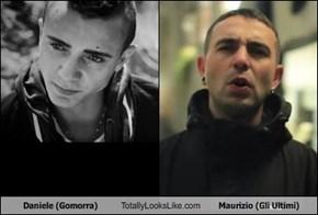 Daniele (Gomorra) Totally Looks Like Maurizio (Gli Ultimi)