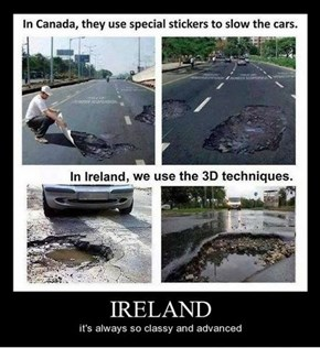 Ireland Is Very Advanced