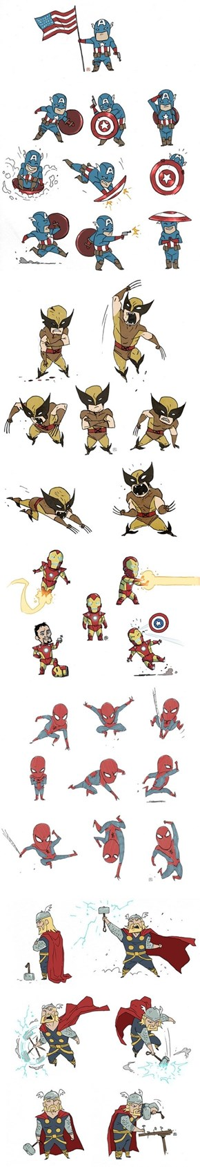 The Cutest Avengers