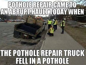 Do We Have a Pothole-Filling Truck Anti-Pothole Excavation Unit?