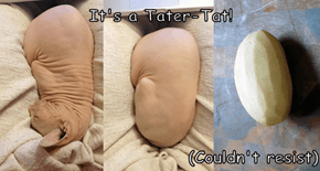 It's a Tater-Tat!  (Couldn't resist)