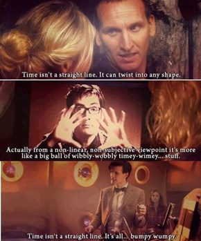 The Doctor Gets Tired Of Explaining The Same Things Over and Over Again