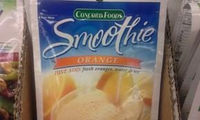 Just add smoothie!