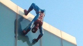 Spider-Man is a Little too Happy in This Sculpture by a South Korean Artist