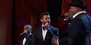 "Hugh Jackman Raps About the ""The Music Man"" at the Tony Awards"