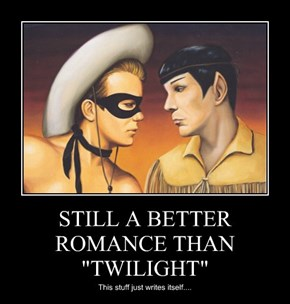 "STILL A BETTER ROMANCE THAN ""TWILIGHT"""