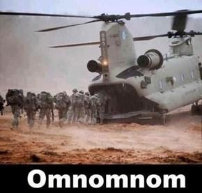 Feed Me Troops!