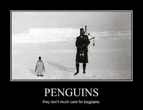 Does Anyone Like Bagpipes?