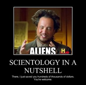 SCIENTOLOGY IN A NUTSHELL