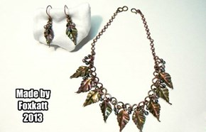 Foxy's Leaf Necklace