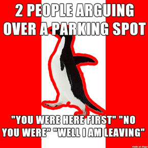 Socially Canadian Penguin