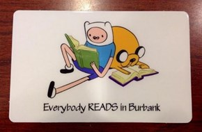 Finn and Jake Are Mathematical, but That Doesn't Mean They Don't Support the Local Library