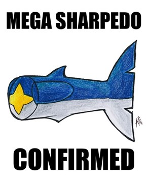 Mega Sharpedo... Wait, What?