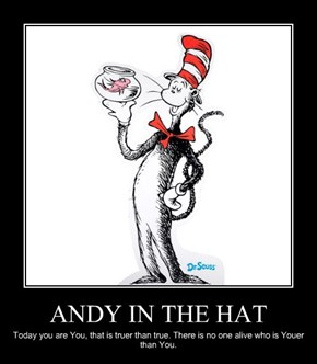 ANDY IN THE HAT