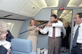 """Get Off My Plane! -- Harrison Ford"" -- Ronald Reagan"