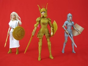 Barbie is Ready for Battle With This 3D Printed Armor