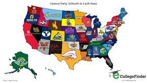Want to Figure Out Which College Throws the Worst Parties? Here You Go!