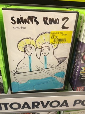 Alternate Cover Art for Saints Row 2
